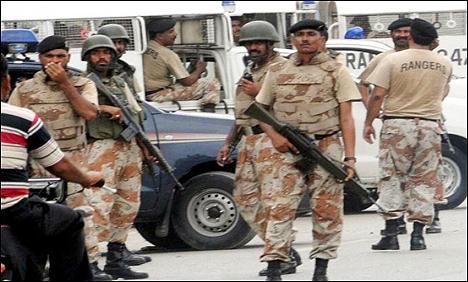 Rangers arrest Pasban General Secretary 20 july 2015