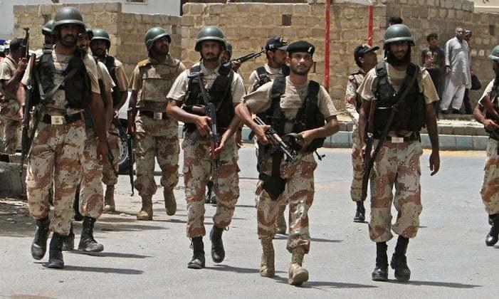 Rangers Raid MQM Nine Zero 17 july 2015