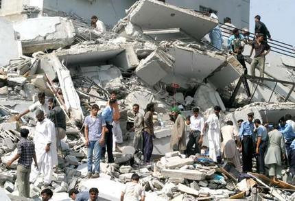 Earthquake in Pakistan on 26 October 2015