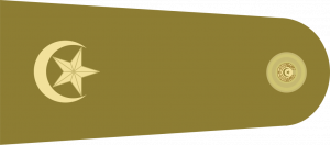 pakistan army major rank